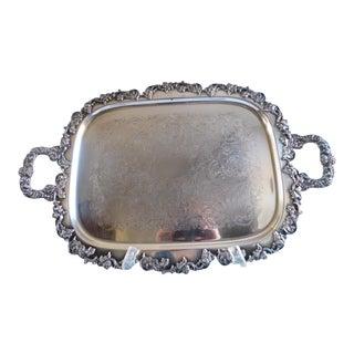 Gorham Silverplate Antique Serving Tray