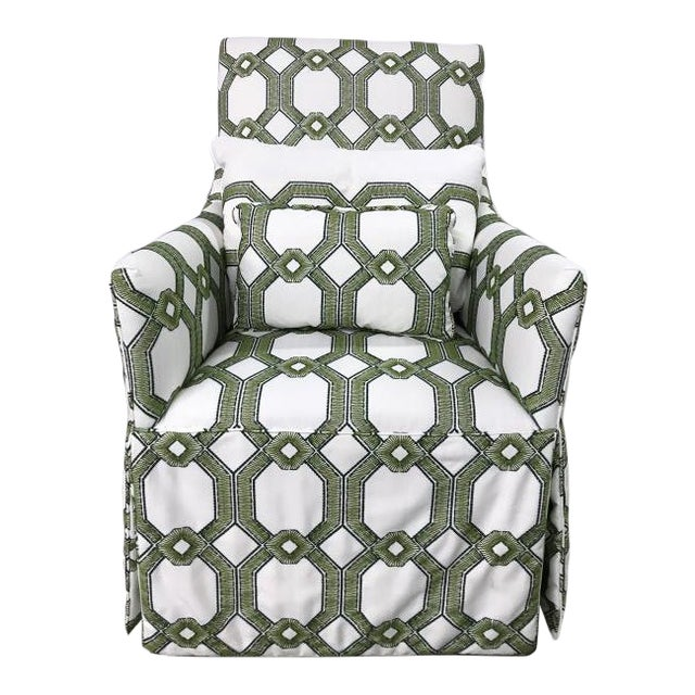 Highland House Blakley Swivel Chair For Sale