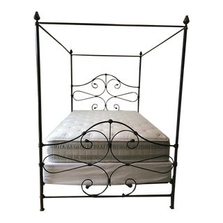 Old Biscayne Designs Olivia Queen Canopy Bed For Sale
