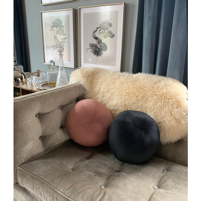 Sculptural, colorful and fun, these spherical accent pillows are the perfect décor companion Available in 10 delicious...