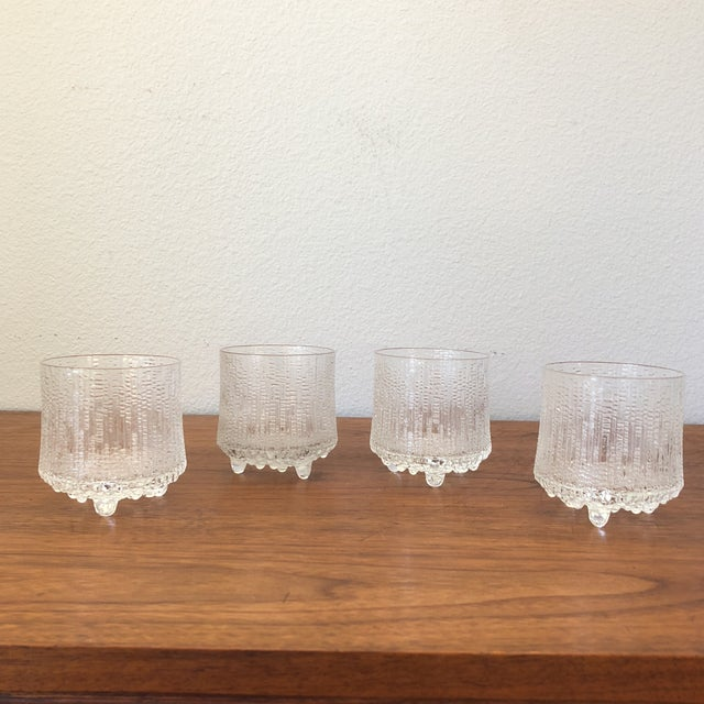20th Century Scandinavian Tapio Wirkkala Glasses - Set of 4 For Sale - Image 9 of 9