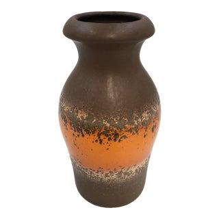Vintage West German Pottery Scheurich Keramik Vase For Sale