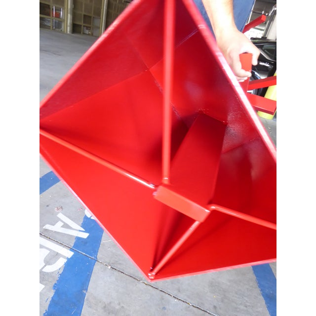 """""""Tropic of Capricorn"""" a Contemporary Abstract Sculpture by American Artist Joey Vaiasuso For Sale - Image 10 of 13"""