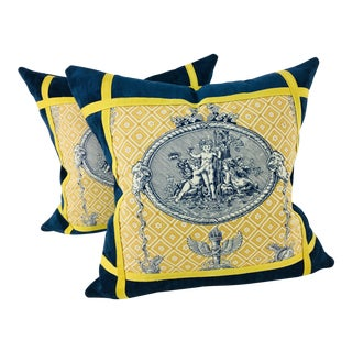 Pierre Frey Pillows - A Pair For Sale