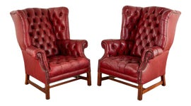 Image of Traditional Club Chairs