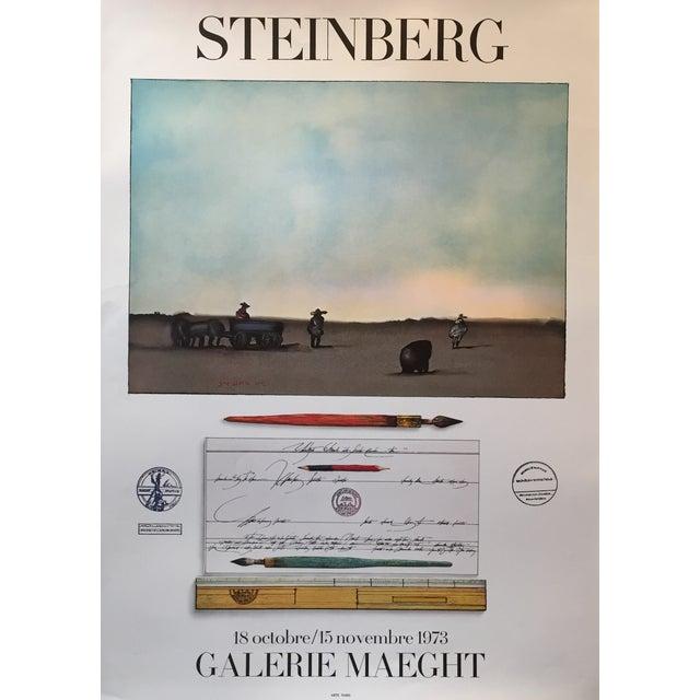 1973 Original Maeght Steinberg Poster - Image 2 of 4