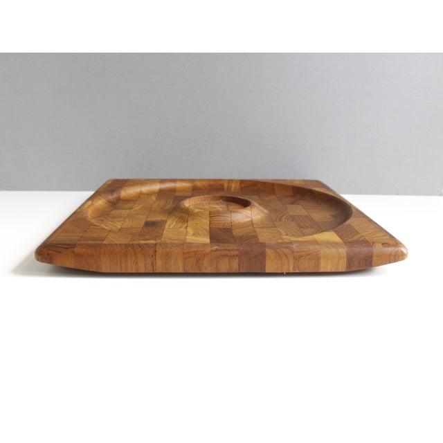 Kalmar Danish Modern Teak Serving Tray Platter - Image 4 of 5
