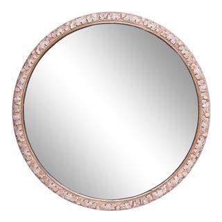 Round Mirror / Acorns & Oak Leaves For Sale