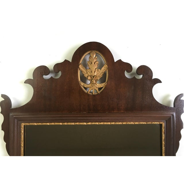Mahogany Chippendale Mirror With Gilt Detail - Image 5 of 6