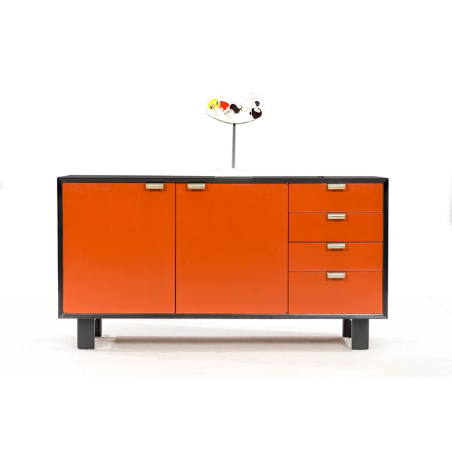 George Nelson Orange Credenza For Sale In Chicago - Image 6 of 13
