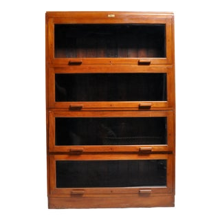 British Colonial Barrister's Bookcase For Sale
