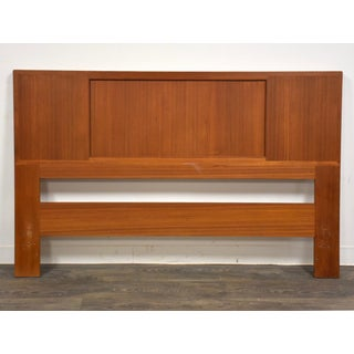 Danish Teak Reversable Cane Queen Headboard by Falster Preview