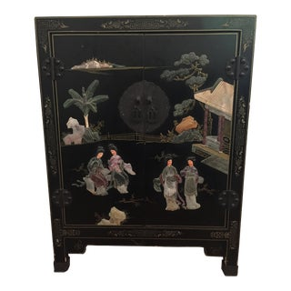 Vintage Chinoiserie Accent Chest