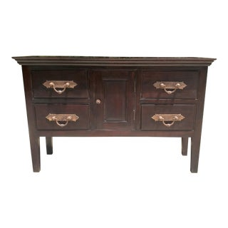 Vintage Asian Indian Sideboard For Sale