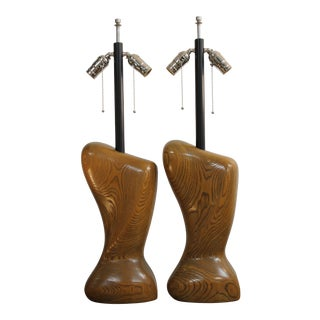 Biomorphic Lamps Attributed to Heifetz - a Pair For Sale