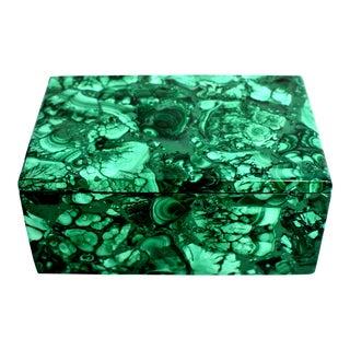 Natural Full Slab Malachite Box 1.75 Lb For Sale