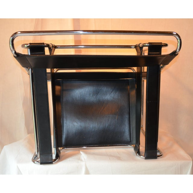 Metal Vintage Wassily Chair, in the Style of Marcel Breuer For Sale - Image 7 of 11