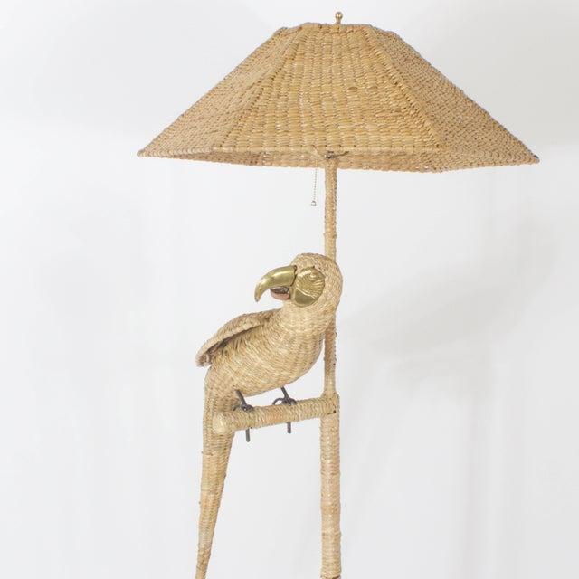 Mario Lopez Torres Mario Torres Parrot Floor Lamp For Sale - Image 4 of 8
