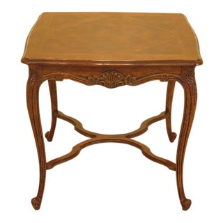 Drexel - Heritage French Style Walnut Occasional Table