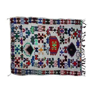 "Vintage Moroccan Azilal Rug - 3'6"" x 7'3"""