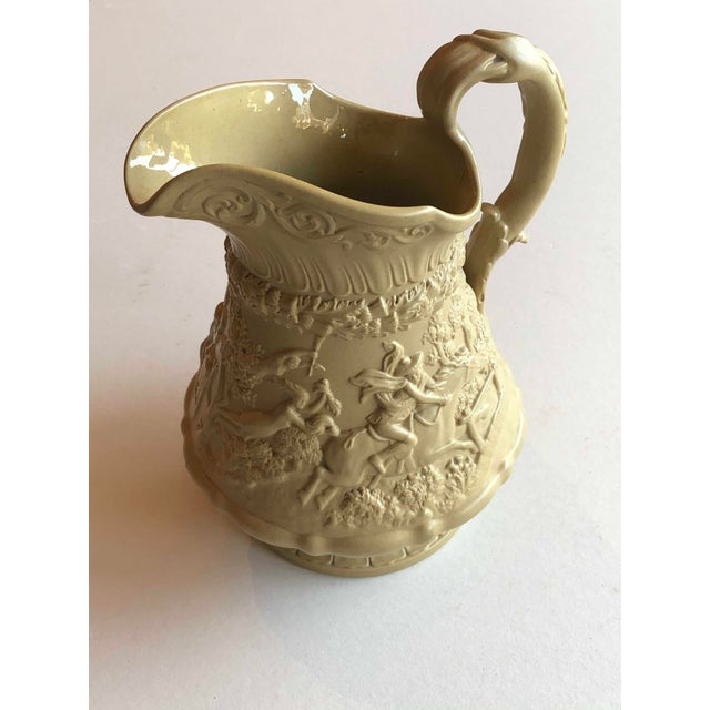 Traditional Antique Ridgway Drabware Jug For Sale - Image 3 of 12