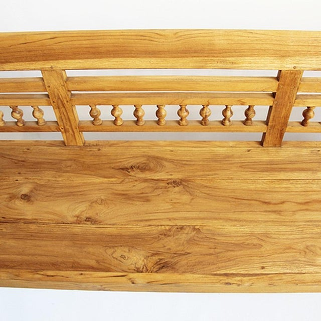 Colonial Teak Bench - Image 4 of 6