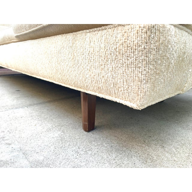 Edward Wormley Three Seat Sofa for Dunbar For Sale In New York - Image 6 of 10
