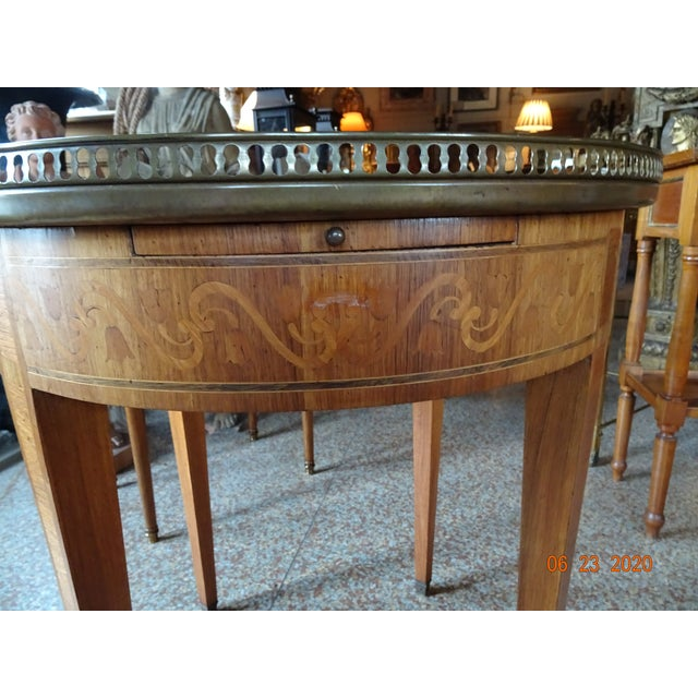 19th Century French Bouillotte Table For Sale In New Orleans - Image 6 of 13