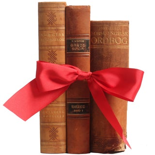 Norwegian Leather Reference Books - Set of 3