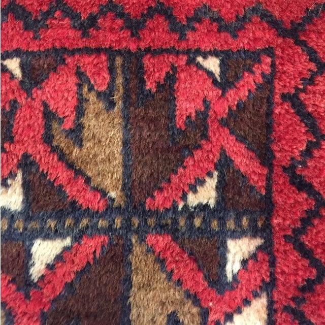 Balluchi Persian Handmade Rug - 2′11″ × 4′7″ - Image 6 of 8