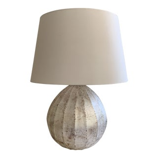 "Arteriors Silver Glass ""Edaline"" Table Lamp For Sale"