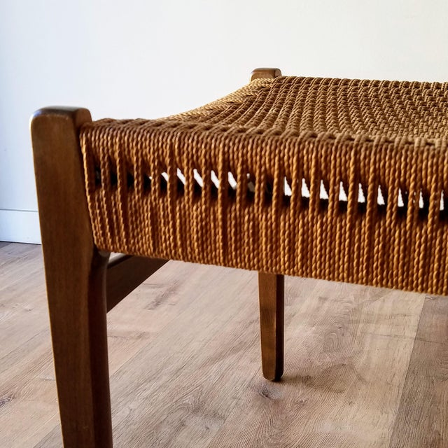 Swedish Mid-Century Modern Rope Dining Chairs - a Pair For Sale - Image 10 of 13