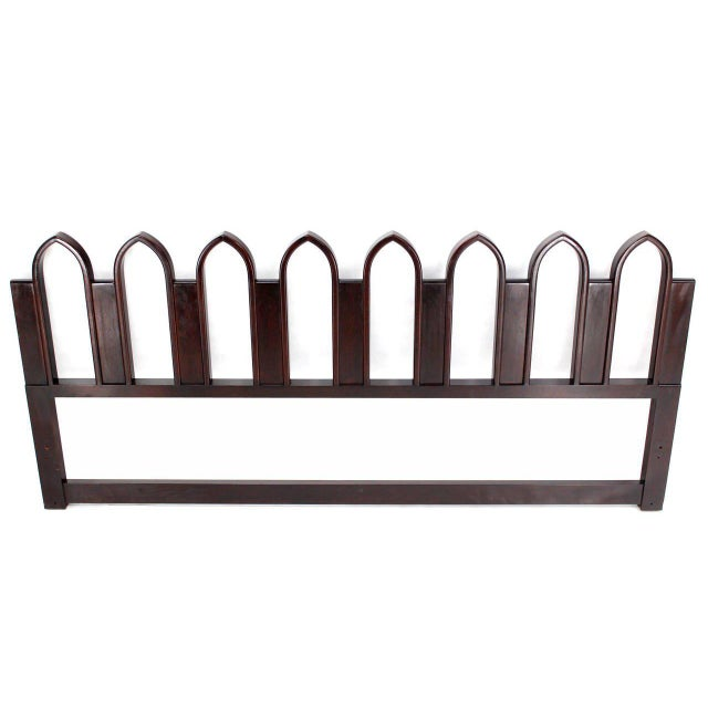 Brown Harvey Probber King-Size Headboard For Sale - Image 8 of 8