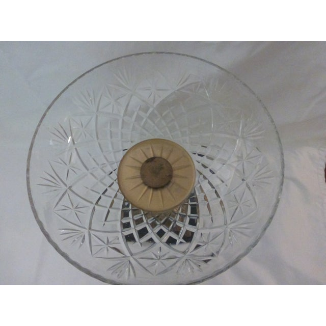 Art Deco Style Crystal Compotes - Pair - Image 6 of 6