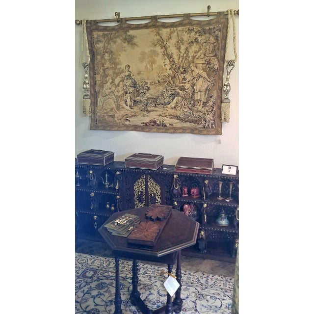 Really nice Continental Wall Tapestry from the mid 19th Century…..circa 1860. In great condition. Country...
