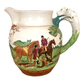 Wedgewood Hound Handled Hunt Pitcher For Sale