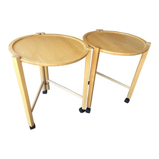 Mid Century Dansk Tray Tables - a Pair For Sale