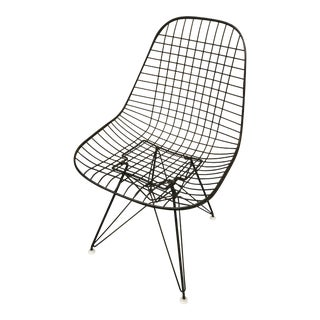 1960s Ray & Charles Eames Wire Side Chair For Sale
