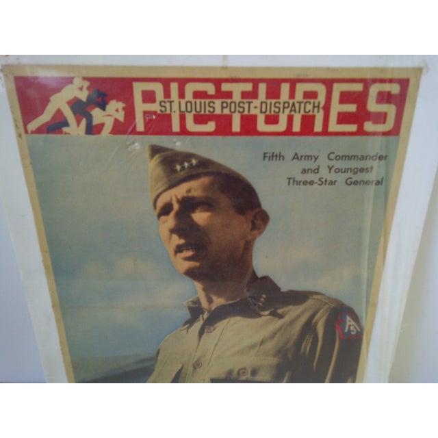 Vintage World War II News Print For Sale - Image 4 of 8