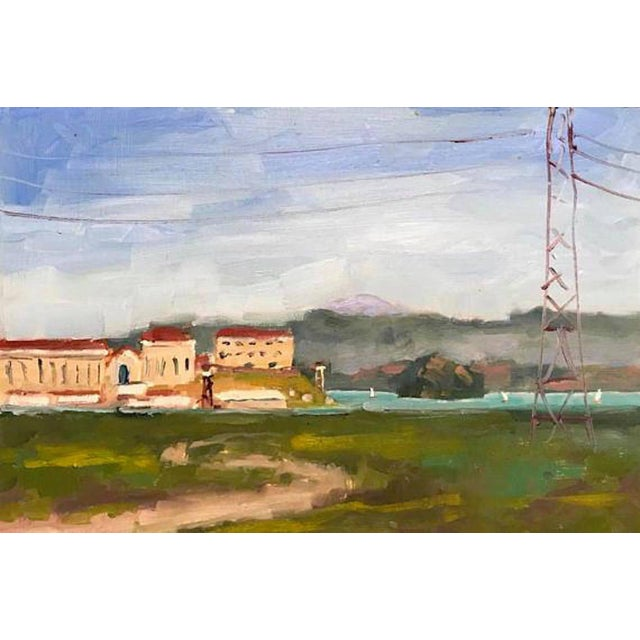 Wood San Quentin Prison Painting For Sale - Image 7 of 10