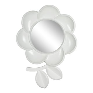 Mid Century Modern Pop Art Flower Mirror For Sale