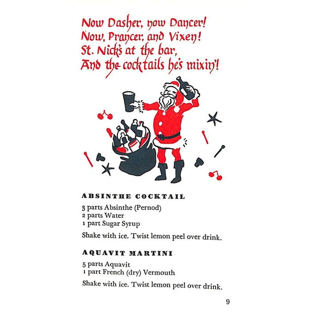 Country The Merrie Christmas Drink Book For Sale - Image 3 of 6
