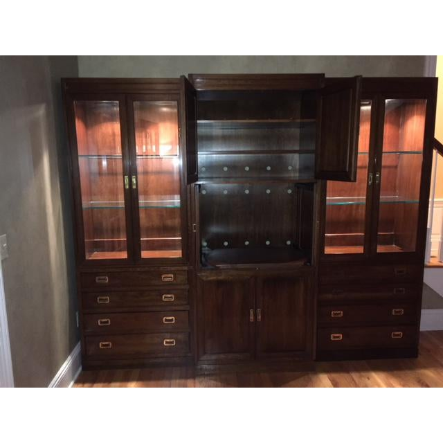 Ethan Allen Canova Collection Wall Unit - Image 5 of 9