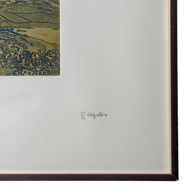 Francisco Copello Embossed Intaglio Print For Sale - Image 4 of 5