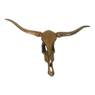 Brass Steer Horns For Sale