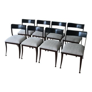 Klismos Style Dining Chairs - Set of 8