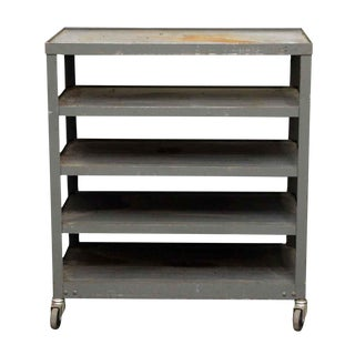 Five Tier Industrial Utility Cart For Sale