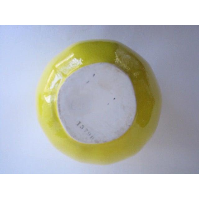 Vintage Lemon Shaped Ceramic Cookie Jar or Canister For Sale - Image 10 of 12