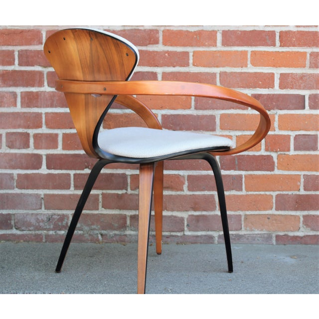 Wood 1950s Vintage Norman Cherner for Plycraft Molded Plywood Dining Chairs- Set of 6 For Sale - Image 7 of 13