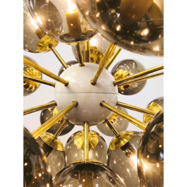 Not Yet Made - Made To Order Ovale Sputnik Chandelier by Fabio Ltd For Sale - Image 5 of 9